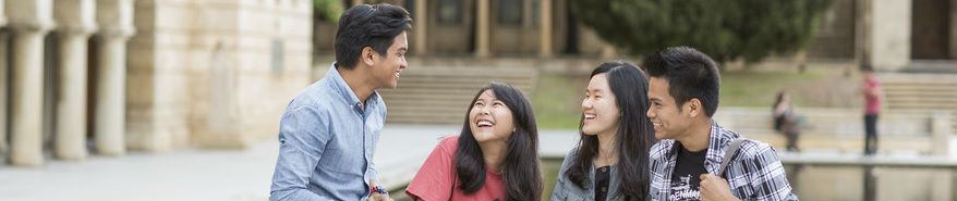UWA students enjoying life on campus