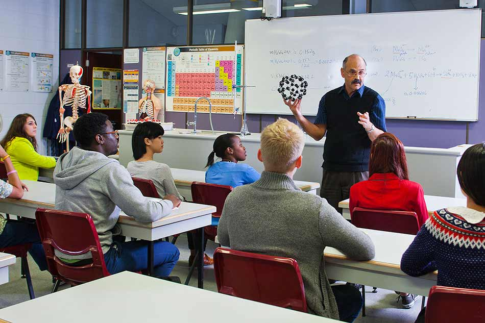 UWA students enjoy learning in the classroom