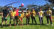 Students enjoy fun and games at the Taylors Perth club