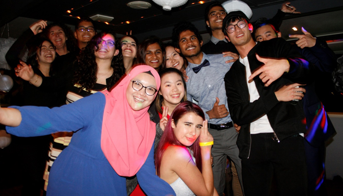 Taylors Perth students social activities