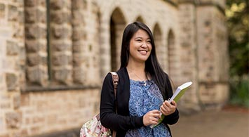 UWA student Wenny from Indonesia